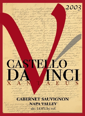 xantaeus 2003 wine from perfect killer and castello da vinci